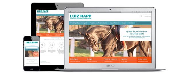 Pryzant Web Design Odontologia Equina Luiz Rapp