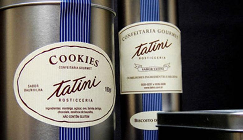 pryzant design tatini embalagem cookies